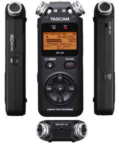 Microfono Tascam DR-05