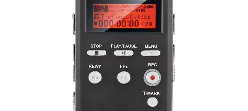 Grabadora de voz EVISTR L53