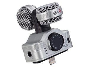 Microfono iQ7 Zoom para Iphone
