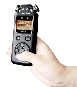 Dictáfono Tascam DR-05 V2 -