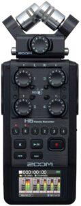 ZOOM H6 Grabadora de voz 6 pistas