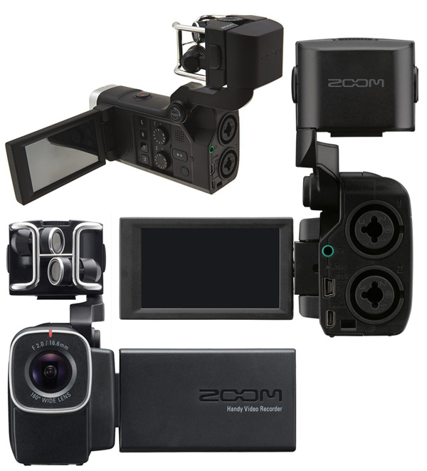 grabadora audio video ZOOM Q8