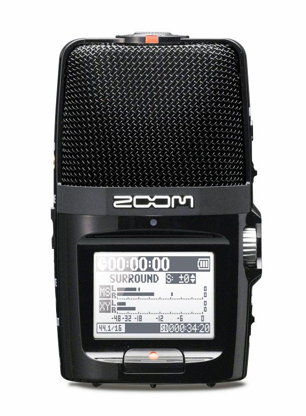Grabador Zoom H2N