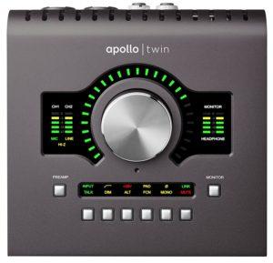 Tarjeta sonido Apollo Twin MKII Solo