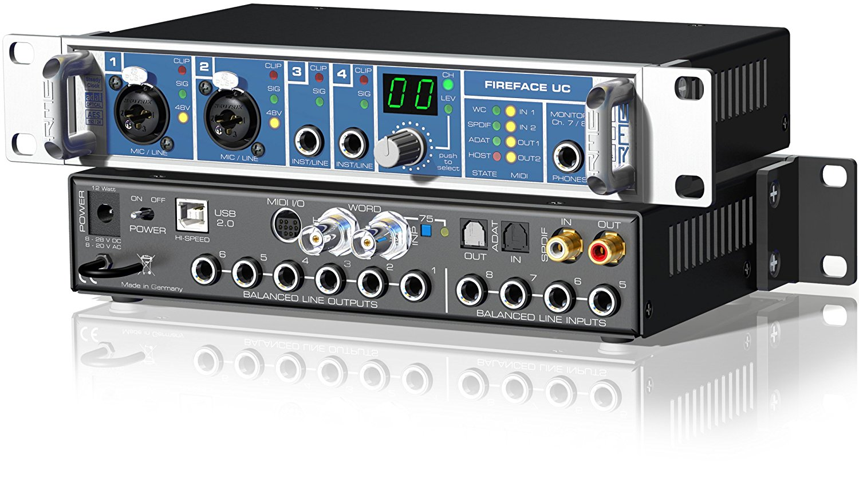 Tarjeta externa de sonido profesional RME Fireface